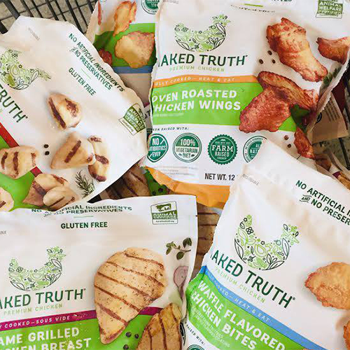 Harris Teeter Stores Pick Up Naked Truth® Premium Chicken